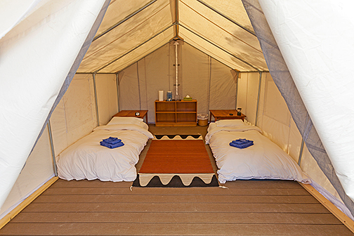 Platform tent crestone retreats for Canvas platform tents