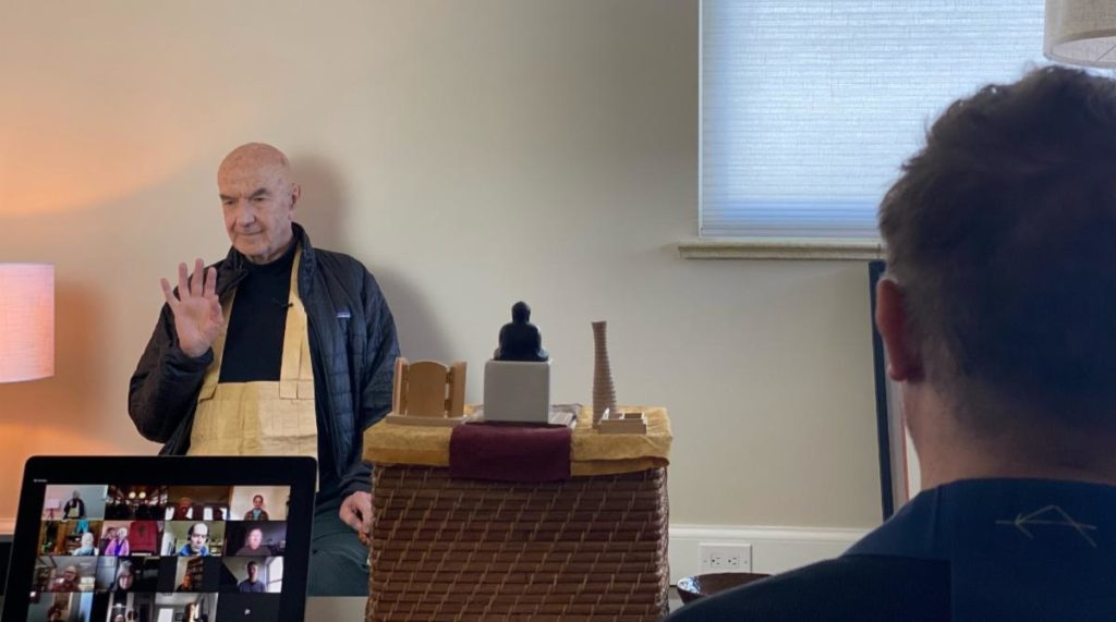 What makes Zen Buddhist teachings and practices particularly accessible to the West is the Zen concept of a 'culturally free Original Mind'.A mind which is the same in any culture, west or east, south or north.A mind which 'stays' as content changes, a stilled field-of-mind within and behind the flow of appearances. ~Zentatsu Baker Roshi